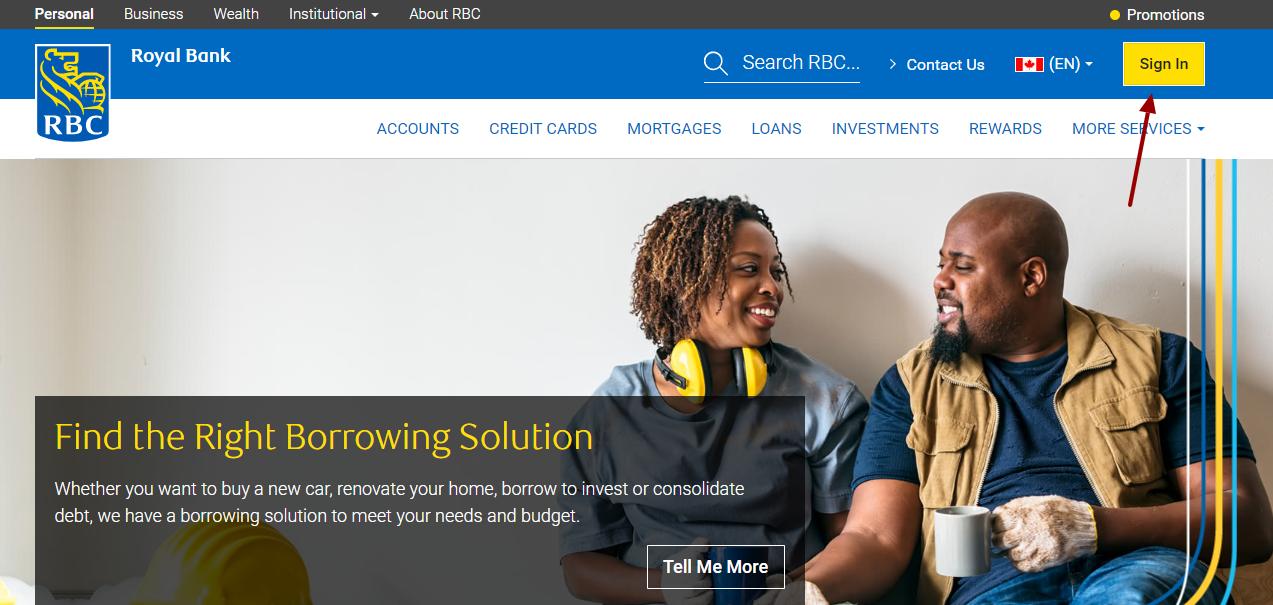 RBC Royal Bank Login