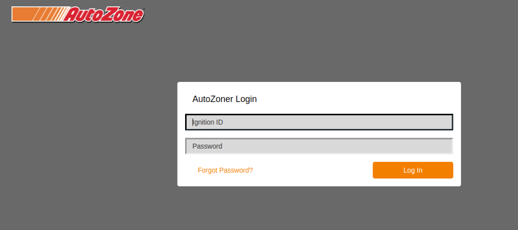 AutoZone Login