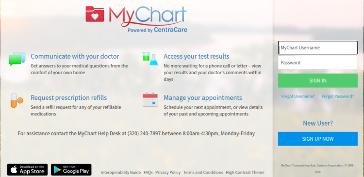 Centra Care My Chart Login