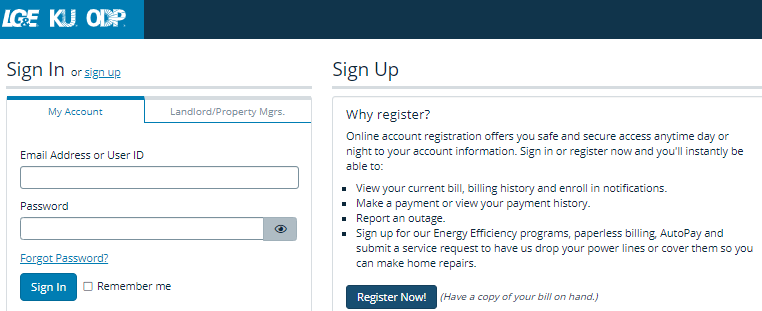 Louisville Gas and Electric Bill Pay