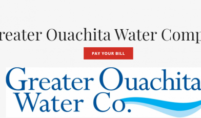 greater ouachita water company login