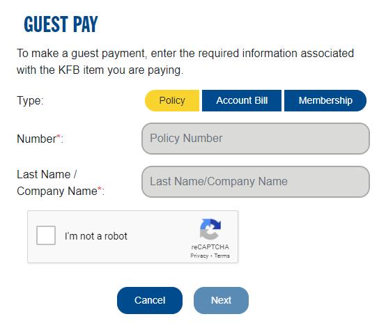 KFB Bill Pay